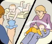 Những lợi ích tuyệt vời khi tập nằm sấp cho trẻ sơ sinh