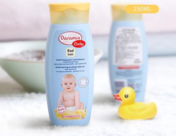 Top sản phẩm tắm gội an toàn cho da bé sơ sinh