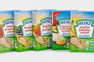 Bột ăn dặm Heinz nga có tốt không | Cách pha bột ăn dặm Heinz nga