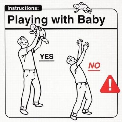 Tác hại khôn lường khi ba mẹ tung hứng trẻ