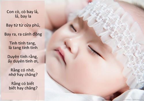 Hát ru cho bé - Tuyệt chiêu giúp trẻ sơ sinh ngủ ngon
