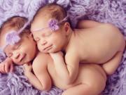 Bật mí 4 điều thú vị nhưng ít người biết về cặp sinh đôi cùng trứng